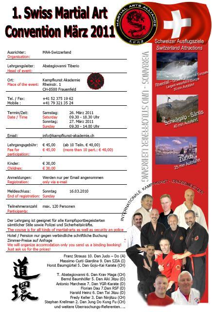 Martial Arts Convention In Frauenfeld Schweiz Bushido Allgäu