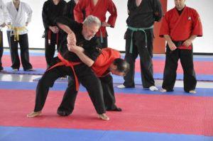 Franz Strauss mach Jiu Jitsu und Judo-Do